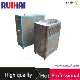 Refrigerador industrial refrigerado por agua superventas 10HP para los molinos del papel y de la tarjeta