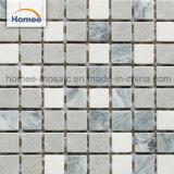 Mosaico di pietra naturale del marmo delle mattonelle delle belle di Atene mattonelle grige della parete