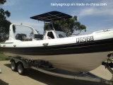 Liya 24.6feet Large Inflatable Boats rigid Inflatable Boats for halls