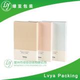 Empfindlicher rechteckiger kosmetischer Kasten mit kundenspezifischem heißem Folien-Firmenzeichen