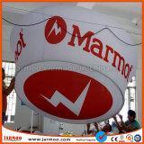 14FT ткань висящих выставки подписать баннер (круглый)