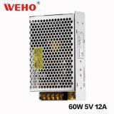 AC continuel de la tension 110V/220V 5V à C.C 60W SMP