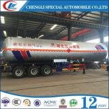 Трейлер Tri-Axle 56m3 LPG варя жидкость трейлера тележки бензобака