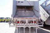 15m3 탱크 크기의 압축기 쓰레기 쓰레기 압축 분쇄기 트럭