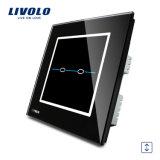 Interruptor automático Vl-C302W-31/32 de la cortina de ventana del sistema casero de Livolo