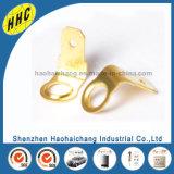 Terminal de perfuração personalizado OEM do anel de bronze do metal da precisão