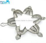 歯科供給のステンレス鋼のAutoclavable印象の皿(TJ-049)