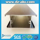 Anodisiertes/Puder-Mantelbrown-Aluminiumprofil für Italien/Franzosen/Deutschland-Markt
