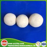 Catalizzatore di ceramica inerte della sfera dell'allumina di 92% per la sfera di sostegno
