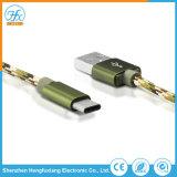 Tipo-c 5V/2.1A che carica il cavo di dati del USB per il telefono mobile