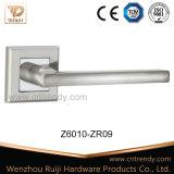 El doble de la palanca de la puerta de aluminio de color de rosa de Zinc (al069-ZR05).
