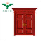 浙江Yujieの製造の熱い販売の木のドアの新しいデザイン