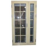Design de portas de entrada principal janela de alumínio portas usadas portas exteriores para venda