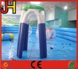 空気は0.6mm PVC防水シートの販売のための膨脹可能なバスケットボールたがを密封した