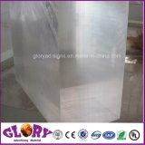 PMMA en plastique transparent en acrylique moulé Feuille pour affichage en plastique