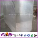 De plastic Transparantie PMMA goot AcrylBlad voor Plastic Vertoning