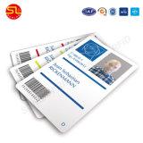 4/4印刷を用いるプラスチック名刺NFCの名刺