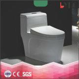 Toletta di un pezzo di ceramica di ciclone degli articoli sanitari di Lp1306 Cina, gabinetto della toletta del mercato della Cina, prezzi sanitari degli articoli