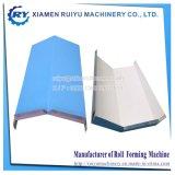 Rullo della protezione del Ridge del tetto del metallo che forma macchina con la taglierina automatica