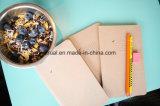 O jornal do caderno (3 blocos), faculdade 96 governou páginas, folhas sem ácidos, 5X8