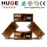1,4 V Hot-Sale Hearing Aid Pilha tipo botão (A10/A13/A312/A675 Pilha tipo botão de ar de zinco)