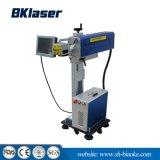 máquina de marcação a laser de CO2 para o Identificador da garrafa de plástico