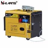 Air-Cooled молчком тип тепловозный генератор (DG6500SE+ATS)