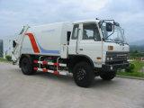 販売のためのDongfeng 160HP 4X2 12.5tonのコンパクターのごみ収集車
