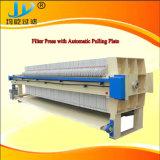 Presse de filtre hydraulique avec la plaque de traction automatique