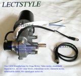 motore dell'attrezzo di CC 12V sulla piantatrice del seme di hobby, spalmatore di ATV, seme dell'erba