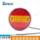 Luzes de Condução Emark LED 24V para Reboque Trcuk Farolins Traseiros