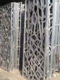 Tallada en las pantallas de perforado de metal decorativo Panel de corte láser CNC