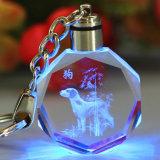 Catena chiave di cristallo la graduazione di piccoli regali dello zodiaco per un regalo di compleanno su ordinazione al ragazzo della ragazza