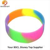 Vendita calda Wristband del silicone stampato commercio all'ingrosso da 1 pollice