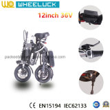 CE велосипед складчатости цены 12 дюймов более дешевой миниой электрический с мотором 250W