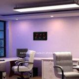 Jour électronique rouge de semaine de DEL Digital et horloge de calendrier
