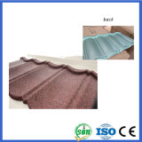 Приклейте высокое качество строительных материалов с покрытием из камня металлические миниатюры на крыше