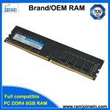 100% тестирование игры черного цвета памяти DDR4 8 ГБ PC19200 2400 Мгц 512MB * 8c 288штифты цилиндра