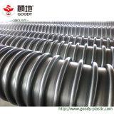 Tubo di drenaggio dell'acqua di bobina della parete della cavità dell'HDPE del grande diametro Pn300-Pn1200