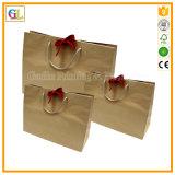 Sacchetto su ordinazione della carta kraft di stampa di marchio (OEM-GL-002)