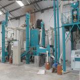 Planta do moinho do milho da alta qualidade com a máquina de embalagem automática Kenya