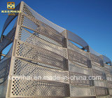 Алюминиевый материал украшения панели плакирования Perforated стены