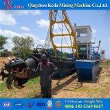 工場ディーゼルとの直接砂鉱山の浚渫船のカッターの吸引の浚渫船の販売