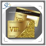 Визитная карточка PVC VIP с UV чернилами