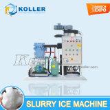 10 tonnes/jour de l'eau de mer de boue de la machine pour les fruits de mer de glace