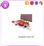 20pcs kits cosmétiques professionnels de la poignée de bambou Jeu de balais
