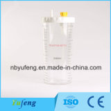 Yf-VAC01-2L fabricante profesional de regulador de aspiración de material PC 2L botella