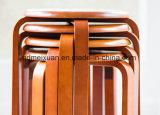 كرسيّ مختبر صلبة خشبيّة كرسيّ مختبر مستديرة ([م-إكس2582])