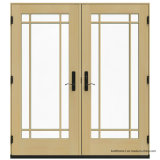 Master Full Lite Tempered Glass in-Swing Doubles Doors Patio