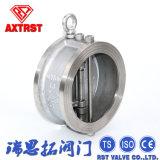 Stahl-Doppelplatten-Oblate-Rückschlagventil der Form-Pn16/Pn40